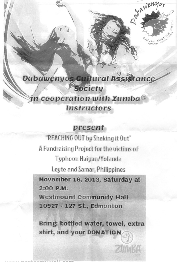 `Reaching out by shaking it out' event on Nov.16