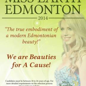 Miss Earth Edmonton takes place at Royal Alberta Museum on May 16-17