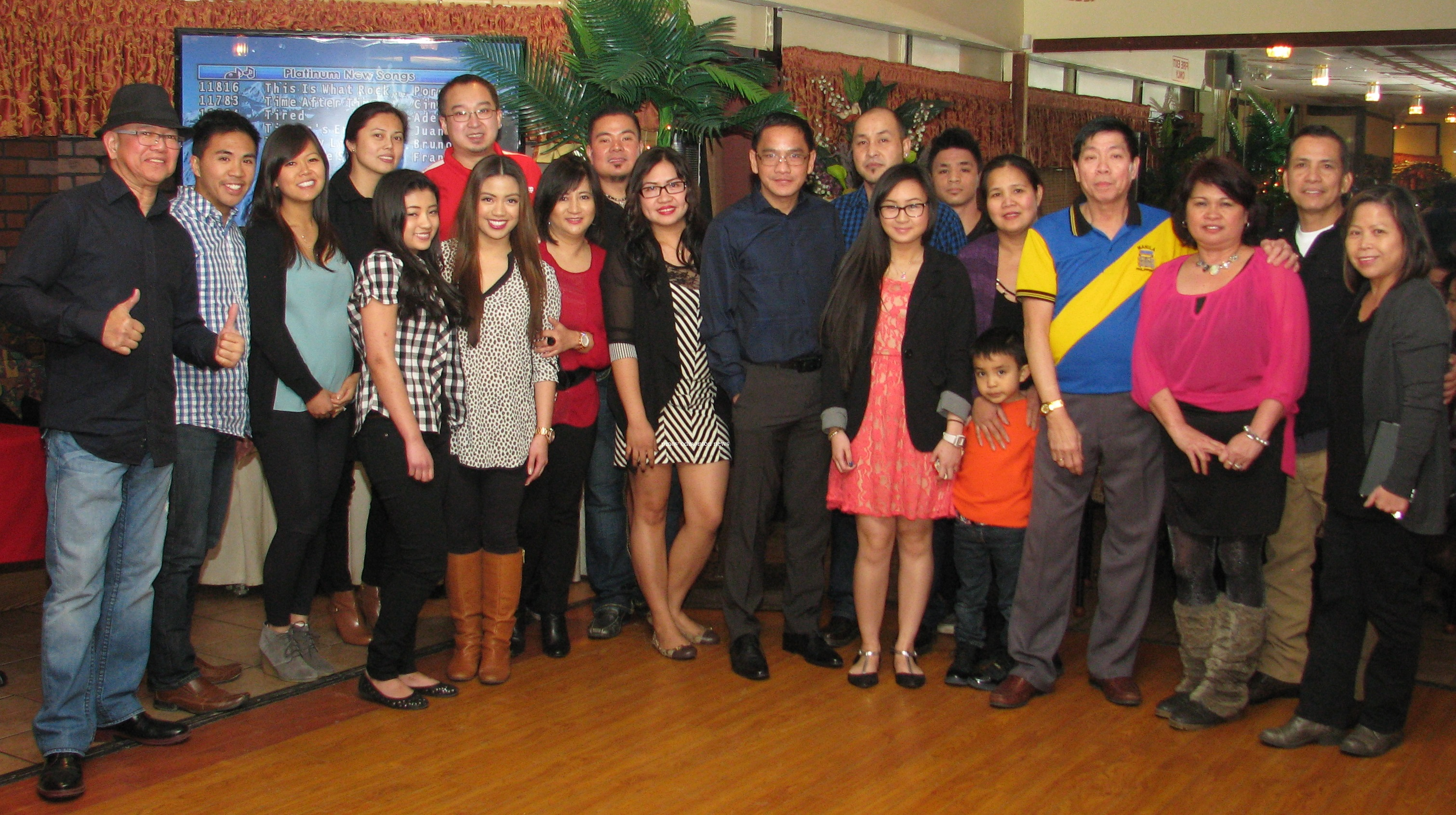 ... during the awards night, February 1, at Rolymie.(pinoy edmonton news
