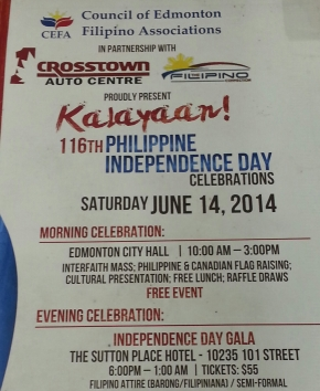 Crosstown Auto Centre, The Filipino Connection back 116th RP Independence Dayevents