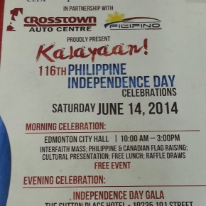 Crosstown Auto Centre, The Filipino Connection back 116th RP Independence Day events
