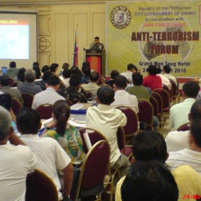 Task Force Davao assures security measures against threats