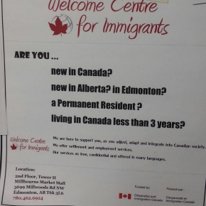 Newcomers can get help from Welcome Centre for Immigrants