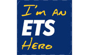 "ETS rewards courteous transit riders with 10,000 ""I'm an ETS Hero"" buttons"