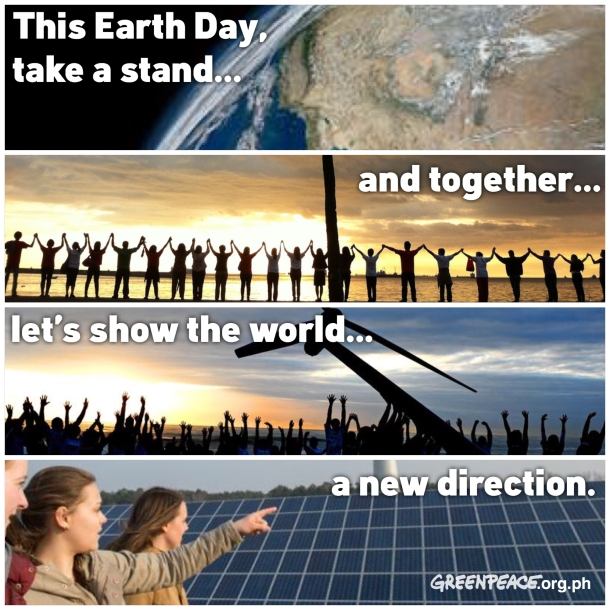 EarthDay2015GreetingsFromGreenpeacePhilippines