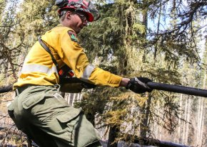 Fire conditions remain extreme in northeastern Alberta