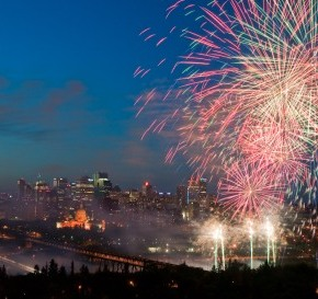 Celebrate Canada's 148th birthday in Edmonton by joining in on some of the many fun family events taking place around the city