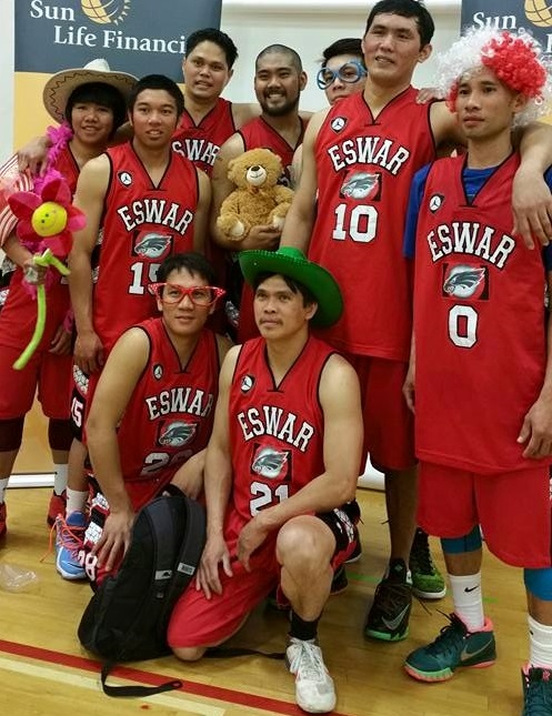 Team Eswar settled for third place.(Photo courtesy of Esguerra)