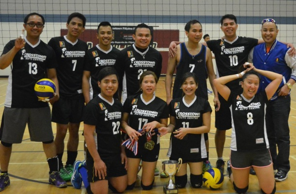 This season's volleyball champion, George Smash.(Photo courtesy of PSA)