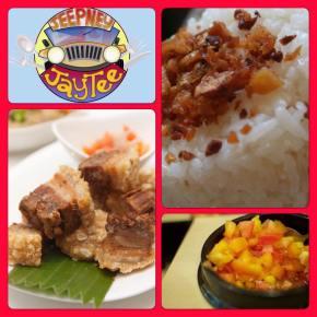 Jeepney JayTee invites everyone to experience `fab' Filipino cuisinetoday