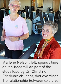 Exercise reduces cancer risk in post-menopausal women; Five hours of physical activity per week is best:study