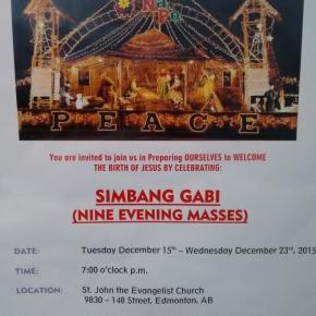 KofC Nazareno Council hosts 'SimbangGabi'