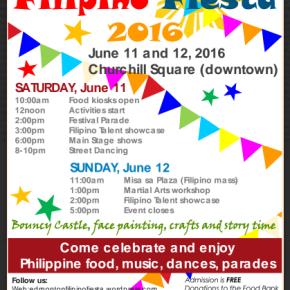 YEG Pinoy Fiesta on June11-12