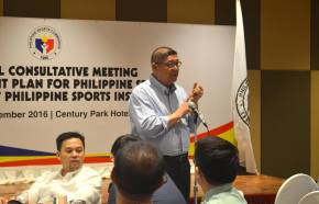 PSC pushes through plan to put up Philippine Sports Institute; gets P25-Mbudget