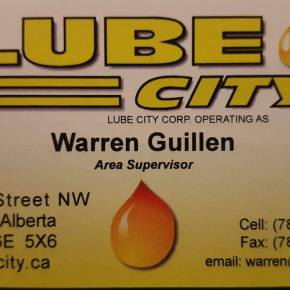 Lube City opens new service centre on 23rd Avenue tomorrow, Friday
