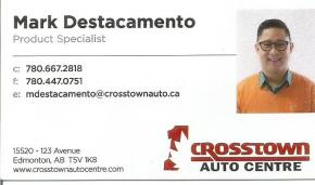 Your Pinoy car salesman, Mark of Crosstown Auto, tumawag lang po kayo sa 780-667-2818