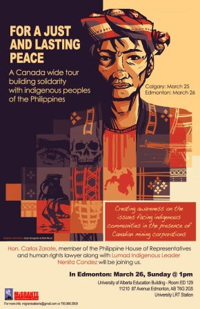 Filipino delegates arrive in Canada to raise awareness on effects of mining to indigenous communities inPhilippines