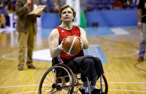 Canadian wheelchair basketball squad plays exhibition game inPhilippines