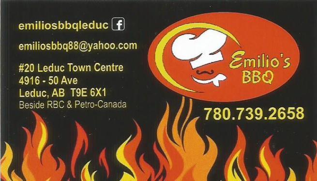 Kung ikaw ay nasa Leduc, subukan ang BBQ special ni Emil sa Emilio's BBQ!