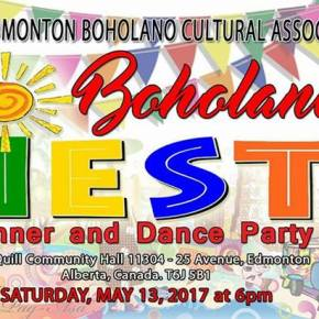 Boholano Fiesta tonight at Blue Quill