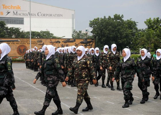 marawi women afp