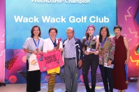 Friendship Division Champion – WACK WACK Mikaela Arroyo, Monique Arroyo, Maria Delia Angeles, Myra Caparros, Alice Jay Crisologo, Cheska Imperial, Hannah See, Margaret Tan.