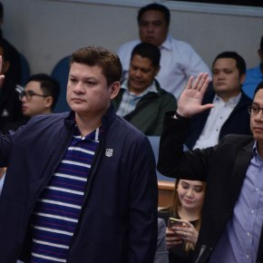 Palace cautions against 'baseless claims' vs Duterte son,son-in-law