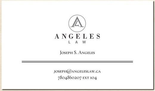 Mga Kababayan, Ang ating Kababayan na si Attorney Joseph S. Angeles ay nag bukas na po ng kanyang opisina sa Edmonton. Kung kailangan niyo po ang kanyang serbisyo, tumawag lang po kayo sa Angeles Law, 780-468-0207 extension 104 o kaya mag email sa joseph@angeleslaw.ca