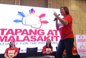 Davao City Mayor Inday Sara Duterte graces the launching of Tapang at Malasakit Alliance for the Philippines