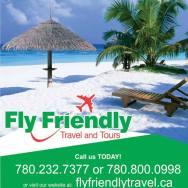Ang Fly Friendly Travel and Tours ay matatagpuan sa 11044 51 Ave NW #204, Edmonton, AB T6H 5B4. Tawag lang po kayo sa (780) 757-0998.