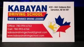 Kabayan, may driving school po tayo sa Edmonton na maaasahan. Tawag po kayo sa 780-994-6763, 780-993-6764.
