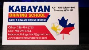 Kabayan Driving School, tawag na sa 780-994-6763,780-993-6764