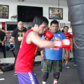 Donaire Joins Team Pacquiao Coaching Staff