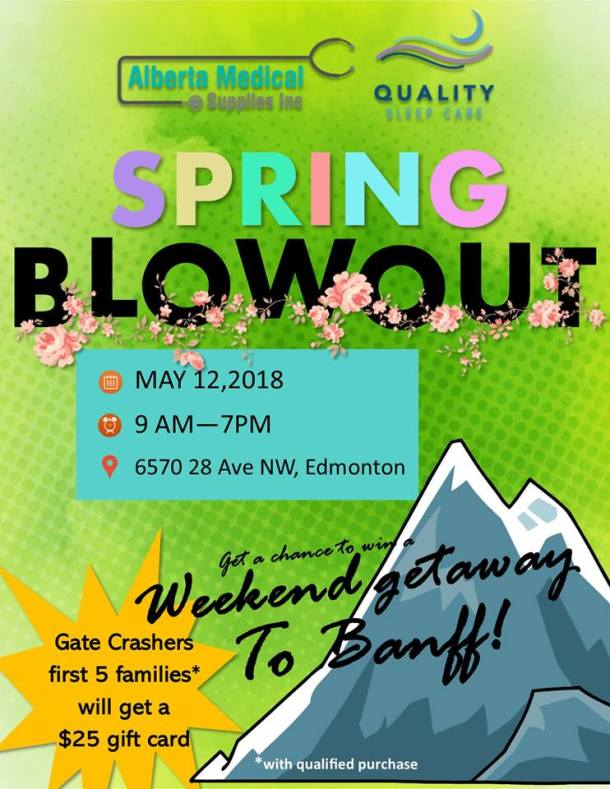 QSC May 12 Spring Blowout