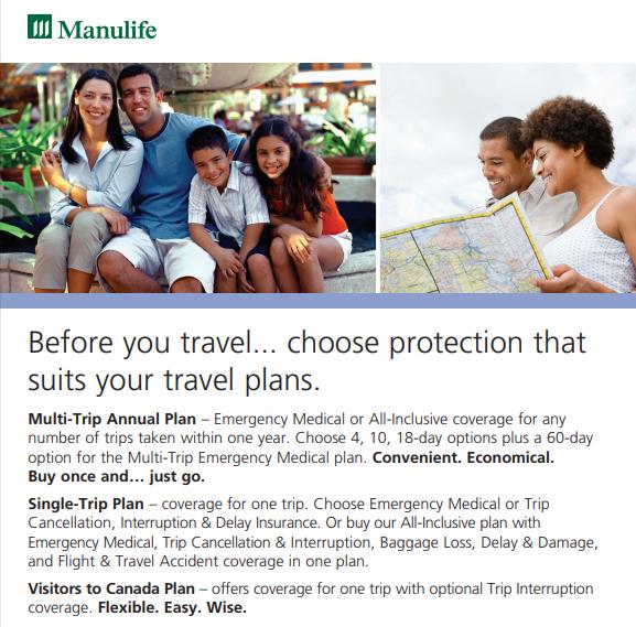 travel insurance plans