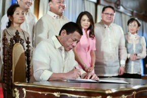 President Duterte signs Universal Healthcare Care law; Solons say it's a step toward healthierPH