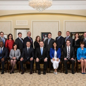 Premier Kenney appoints strong team ready to lead