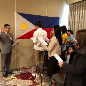 Consulate General's Office holds Outreach Services in Edmonton; Staff, volunteers serve 1K plus Pinoys