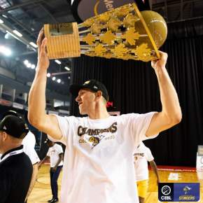 Jordan Baker wins CEBL Canadian Player of the Year