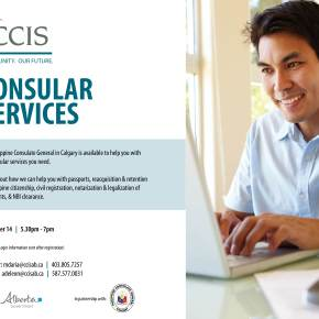 Learn about Philippine Consulate Calgary consular services on Dec.14