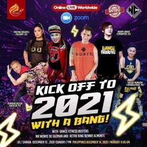 Wowie de Guzman, Bennie Almonte to hold Dance, Retro Fitness on Zoomtonight!