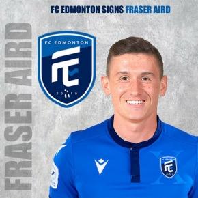 FC Edmonton signs midfielder FraserAird