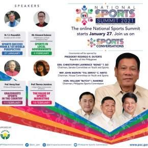 Pres. Duterte opens National Sports Summit2021