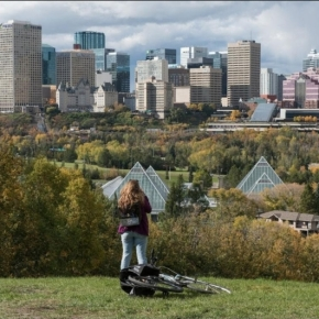 Forests planted by Edmontonians for Edmontonians