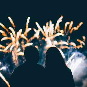 Fireworks will be set off over Edmonton's river valley on Thursday, July 1 at 11p.m.