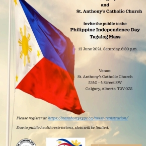 Consulate General, St.Anthony's Church host Philippine Independence Day Mass on June12