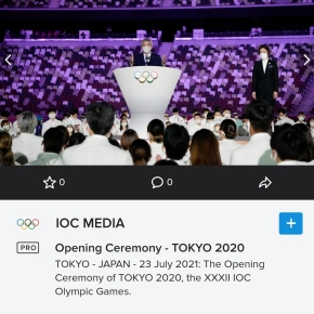 The full speech delivered by International Olympic Committee (IOC) President Thomas Bach during the Opening Ceremony of the Olympic Games Tokyo 2020 today, 23 July2021