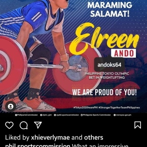 Weightlifter Ando places 7th; 11 out of 19 Filipino Olympians still in the hunt formedals