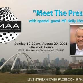 Pilot episode of the Philippine Media Association of Alberta's 'Meet ThePress'