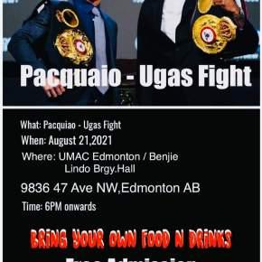 UMAC Cargo, Benjie Lindo Live to co-host PacmanPPV